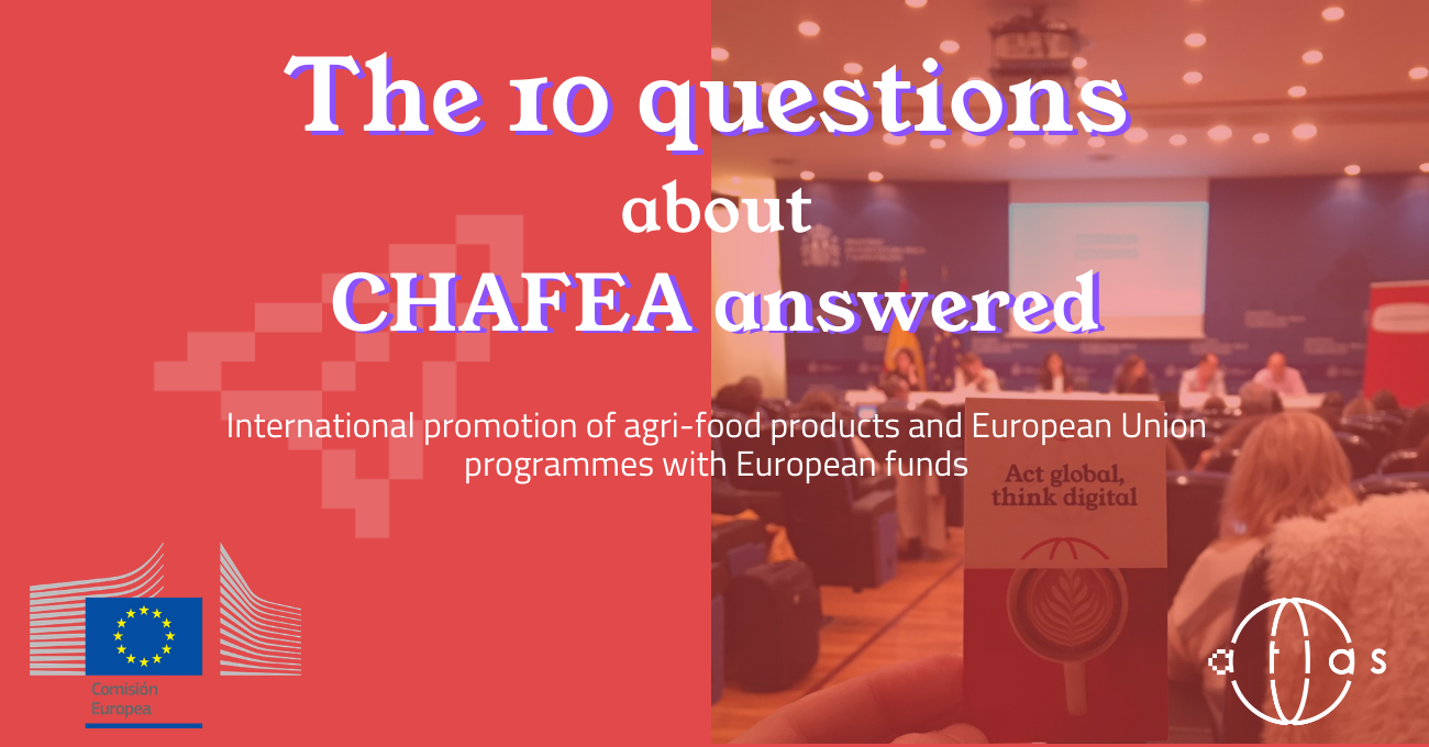 CHAFEA and the 10 questions answered about promotion programmes