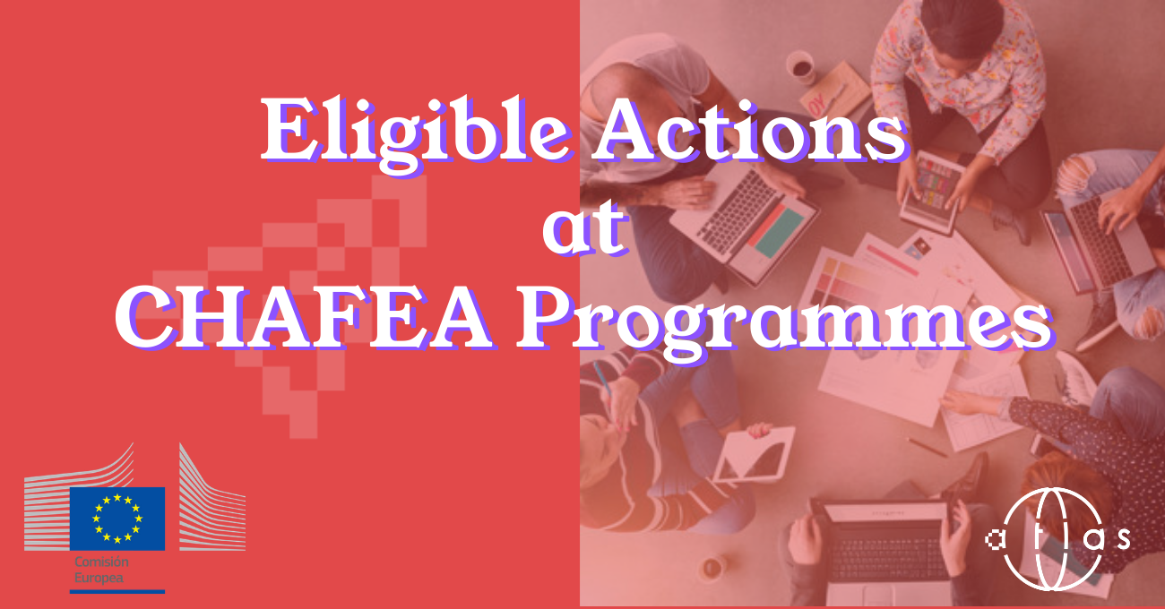 Eligible actions for CHAFEA programmes
